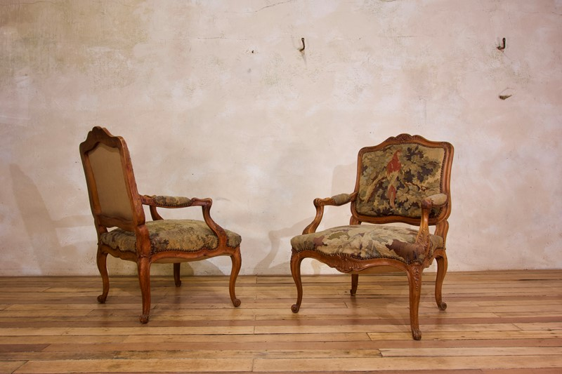 Pair Of 18th C Louis XV Fauteuils Tapestry Chairs-pappilon-fullsizeoutput-4398-main-637459848947597161.jpeg