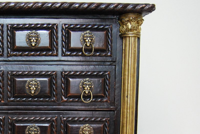 Highly Decorative Miniature Chest of  Drawers-payne-co-dsc-0158-2-main-637380451732221101.JPG