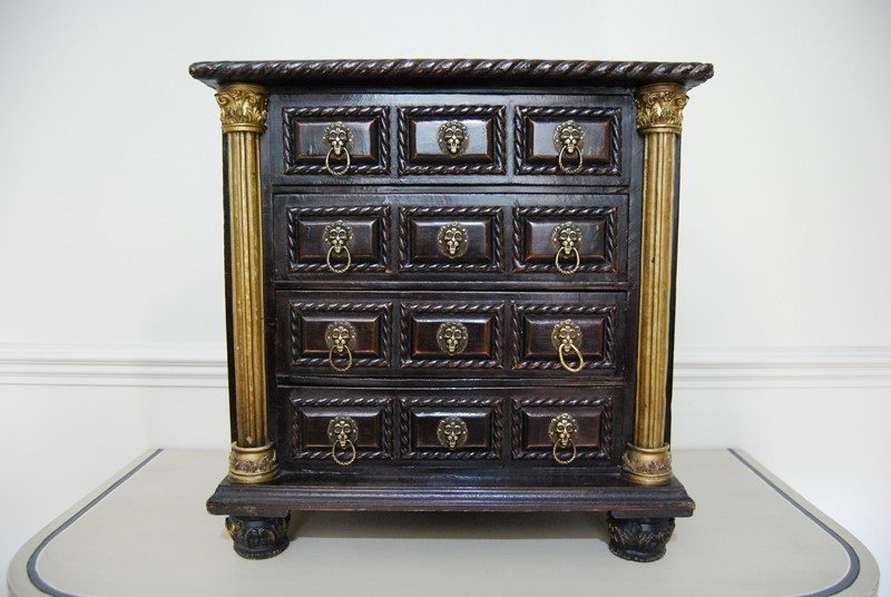 Highly Decorative Miniature Chest of  Drawers-payne-co-dsc-0158-main-637380451554878119.JPG