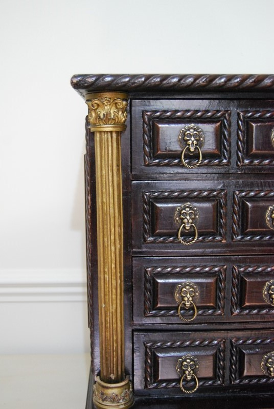 Highly Decorative Miniature Chest of  Drawers-payne-co-dsc-0165-main-637380451942377293.JPG