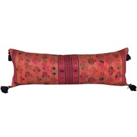 Stunning Orange Maonan Long Cushion