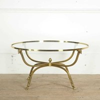 Brass Neo Classical Table