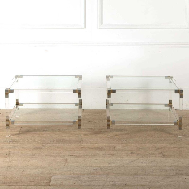 Pair Of Lucite and Chrome Side Tables-philip-varma-ca542bcd-297f-4c93-8d96-503c1402430d-main-637351290378600194.jpeg