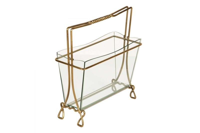 Magazine Rack in Brass and Glass by Cristal Arte-philip-varma-d0f1a998-278e-4f03-ad0e-98765395beb3-main-636929782494370816.jpeg