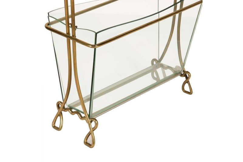 Magazine Rack in Brass and Glass by Cristal Arte-philip-varma-e296d19e-8c52-4b87-aa74-1891c9487ab0-main-636929782600354479.jpeg