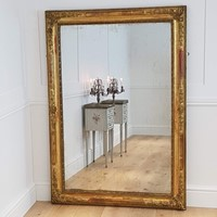 French rectangular mirror