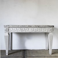 Pair of  Kentian style console tables
