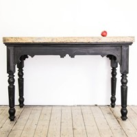 Scagliola Topped Console Table