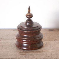 Treen Tobacco Jar
