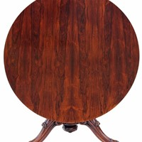 Victorian rosewood loo breakfast table