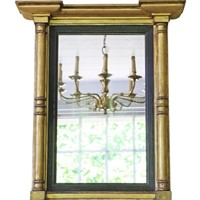 19th Century gilt pier wall mirror
