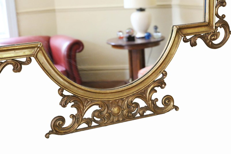 Antique large quality early 20th C brass mirror-prior-willis-antiques-7376-3-main-637040436987759035.jpg