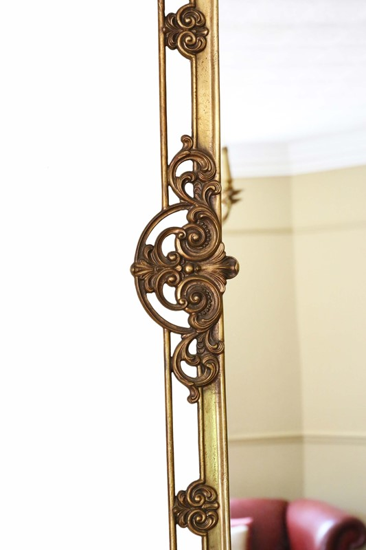 Antique large quality early 20th C brass mirror-prior-willis-antiques-7376-4-main-637040437008384380.jpg