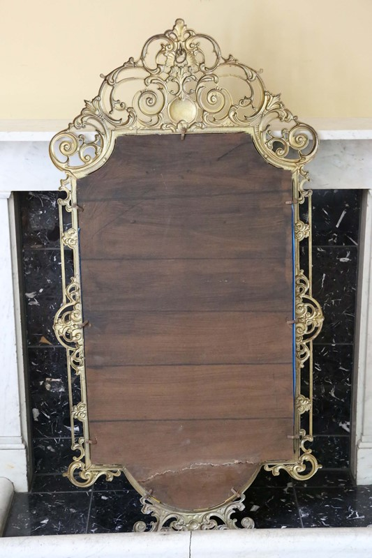 Antique large quality early 20th C brass mirror-prior-willis-antiques-7376-6-main-637040437045728638.jpg