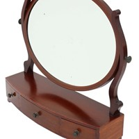 Dressing table swing mirror