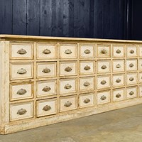 19th Century French bank of drawers