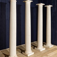 fantastic wooden pillars