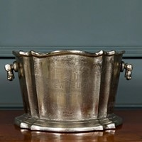 Pure White Lines Champagne Bucket