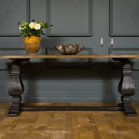 Rustic Timber Console Table