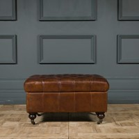 Brown Bexley Ottoman