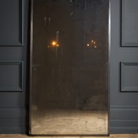 Metal Wall Standing Mirror