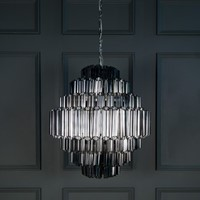 Grande Palermo Smoked Chandelier