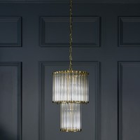 Small Double Monza Chandelier