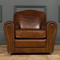 Modern - St Germain Leather Club Chair