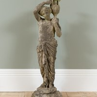 20th Century Female Garden Statue