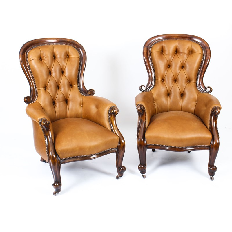 Antique Pair Victorian Mahogany Leather Armchairs-regent-antiques-a1219-antique-pair-english-victorian--mahogany-spoonback-leather-armchairs-19th-c-1-main-637544290241095037.jpg