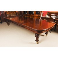 Antique William IV Extending Dining Table 19th C