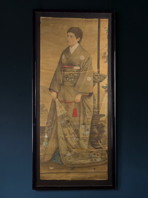 19th Century Full length Japanese Portrait on Silk-roche-coward-antiques-meiji-japanese-full-length-silk-portrait-00012-main-637209878953779374.jpg