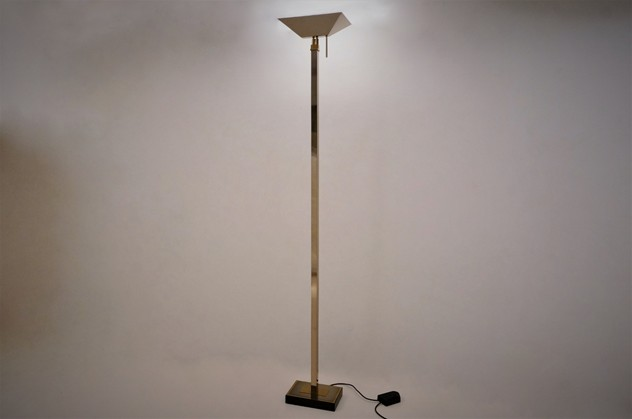 Chrome & brass floor lamp by Deknudt Lighting-roomscape-DSC09314 (1500x995) (2)_main_636485341945834167.jpg