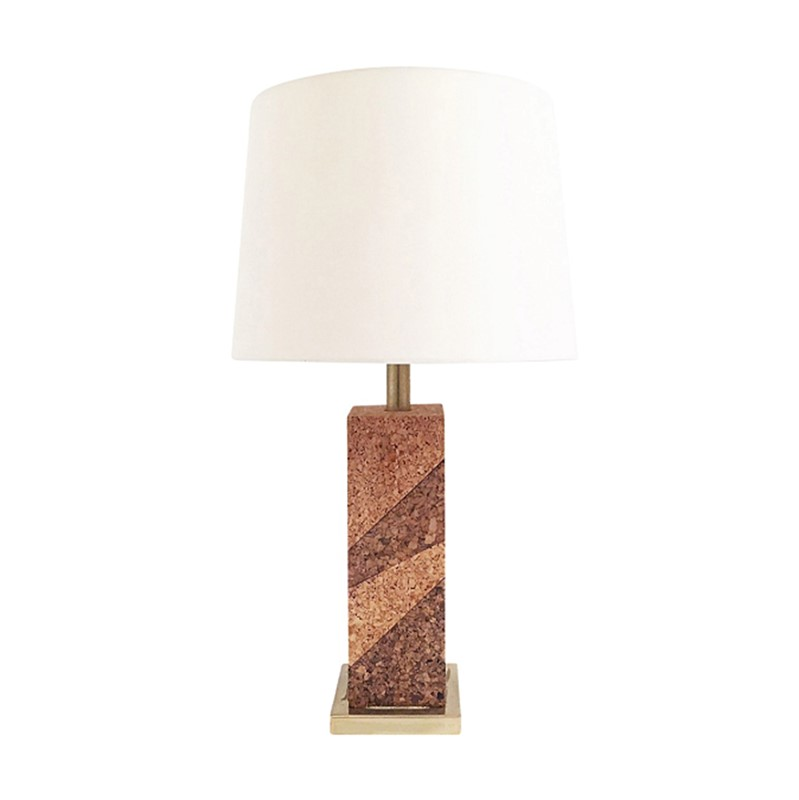 Mid Century Modern Cork & Brass Table Lamp Vintage-roomscape-brass-cork-lamp9-main-637237075932898085.jpg