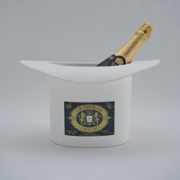 Top hat vintage champagne ice bucket Laurent Bouy