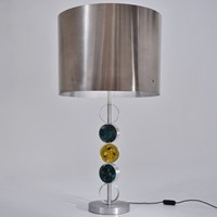 RAAK table lamp by Nanny Still, metals & glass