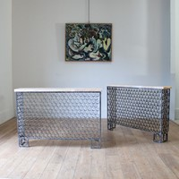 A Pair of 1950s/60s Spanish Console tables