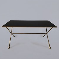 Maison Jansen Brass Coffee Table