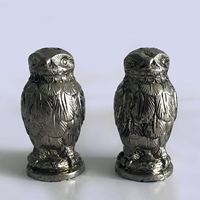 Pair of Italian Owl Salt & Pepper Shakers