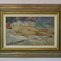 Nude Woman - Mid 20th Century Nude Still Life