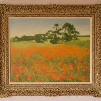 Post Impressionist Landscape Oil by M Noles