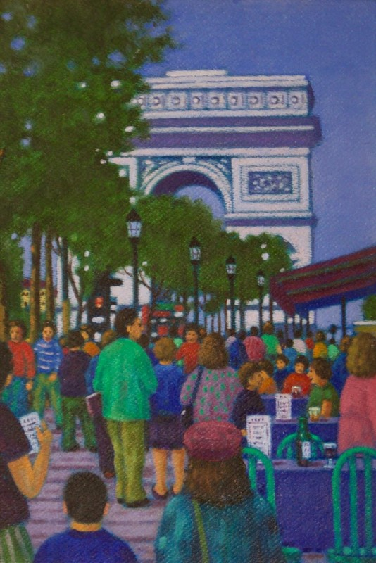 Arc de Triomphe Paris - Impressionist Oil by Woods-simpson-fine-art-190-1--master1-main-637353363917120564.jpg