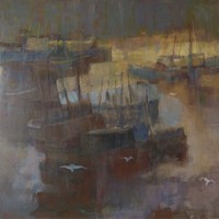 Morning Light Seascape - Oil by Donald Blake