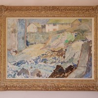 St Ives - Impressionist Oil of Cornwall by Archer