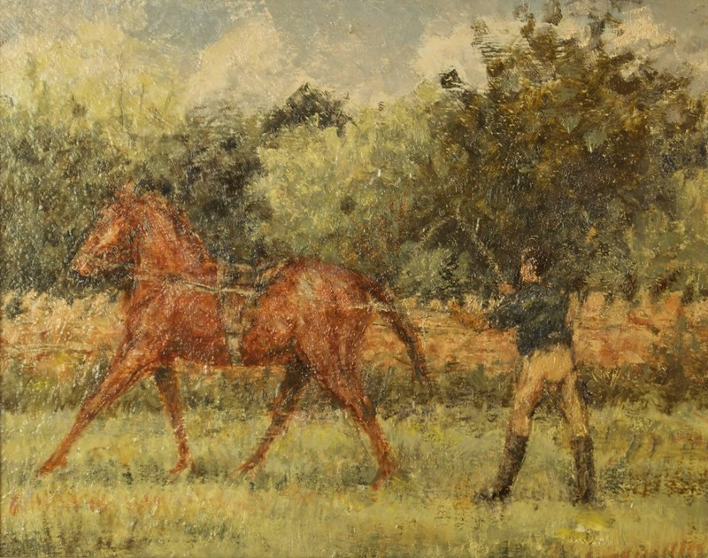 Training Day - Horse & Jockey Impressionist Oil-simpson-fine-art-72-2--master1-main-636951672909460464.jpg