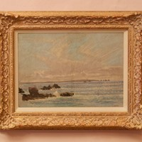 Seascape St Ives - Impressionist Pastel by Innes