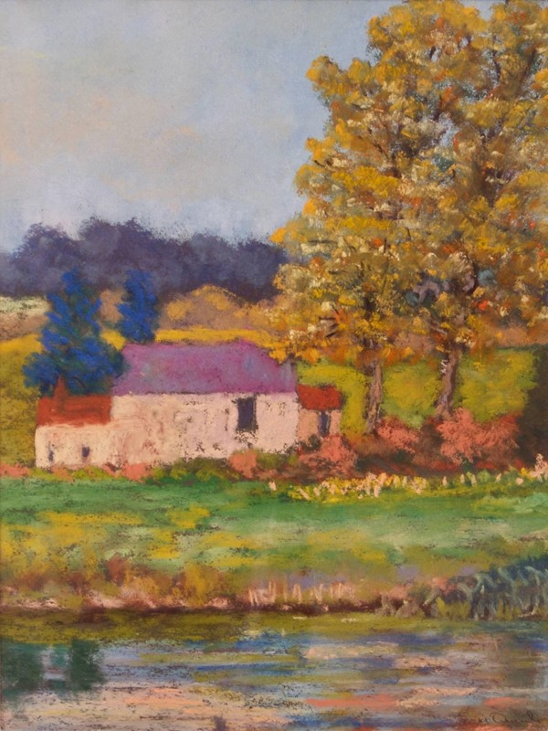 Country Landscape - Late 20th Century Oil - Quirke-simpson-fine-art-98-1--master1-main-637025157857675116.jpg