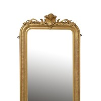 19th Century Louis Philippe Giltwood Pier Mirror