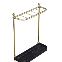 Victorian Brass Umbrella Stand