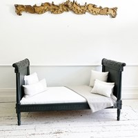 Carved and Painted Italian Daybed